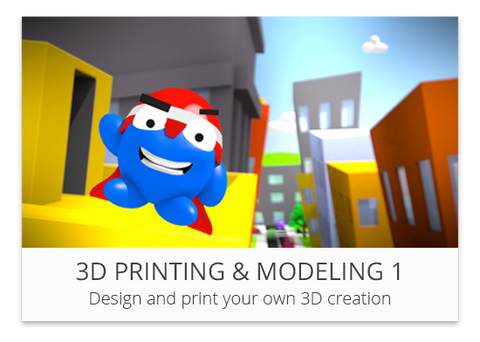 3D Printing & Modeling 1 - YouthDigital