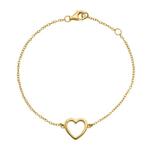 BRACELET-HEART-EASY-GOLD