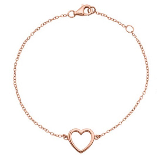 BRACELET-HEART-EASY-ROSÈ