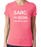 Sarc My Second Favorite Asm T-Shirt-Men's - Clever Fox Apparel