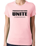 Procrastinators Unite Tomorrow T-Shirt - Clever Fox Apparel