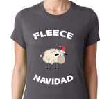 Women's Fleece Navidad T-Shirt - Clever Fox Apparel