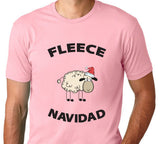 Men's Fleece Navidad T-Shirt - Clever Fox Apparel