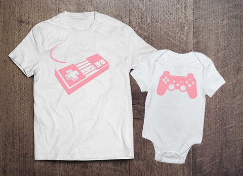 Playstation and Super Nintendo Ladies Matching Set - Clever Fox Apparel