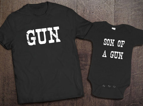 Gun, Son of a Gun Set - Clever Fox Apparel
