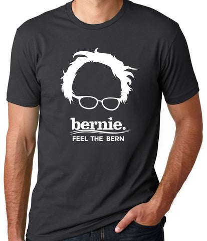 Bernie Feel the Bern Shirt-Men's - Clever Fox Apparel