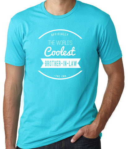World's Coolest Brother in Law T-Shirt - Clever Fox Apparel