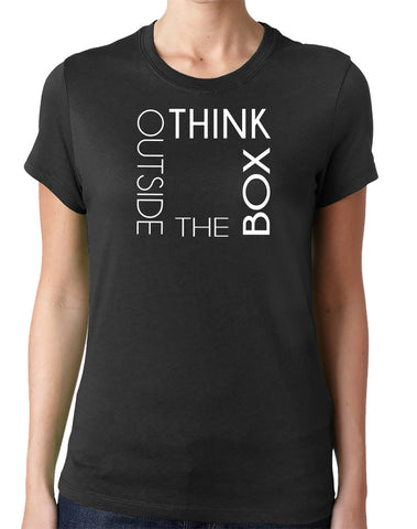 Think Outside the Box T-Shirt - Clever Fox Apparel