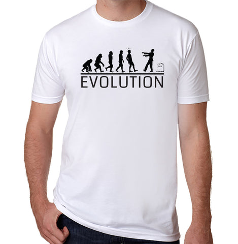 Zombie Evolution T-Shirt - Clever Fox Apparel