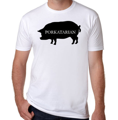 Porkatarian T-Shirt-Men's - Clever Fox Apparel