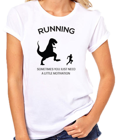Sometimes You Just Need a Little Motivation T-Shirt-Women's - Clever Fox Apparel