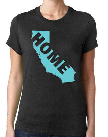 California Home T-Shirt-Women's - Clever Fox Apparel