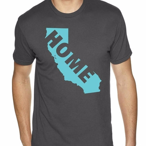 California Home T-Shirt-Men's - Clever Fox Apparel