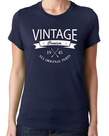 Vintage 1945 T-Shirt - Clever Fox Apparel