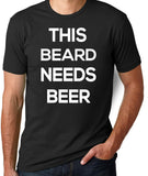 This Beard Needs Beer T-Shirt - Clever Fox Apparel