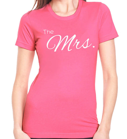 The Mrs. T-Shirt - Clever Fox Apparel