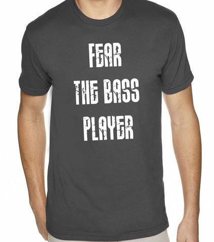 Fear The Bass Player Band T-Shirt-Men's - Clever Fox Apparel