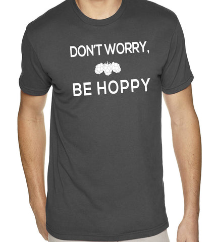Don't Worry Be Hoppy T-Shirt-Men's - Clever Fox Apparel