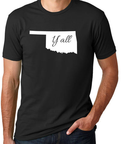 Oklahoma Yall T-Shirt-Men's - Clever Fox Apparel