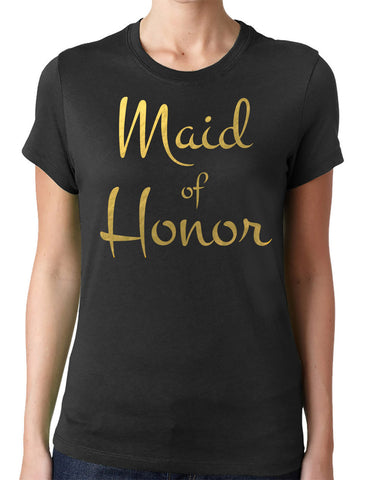 Maid of Honor Shirt - Clever Fox Apparel