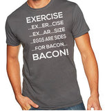 Exercise Bacon Shirt-Men's - Clever Fox Apparel