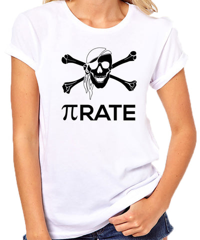 Pi Rate T-Shirt-Women's