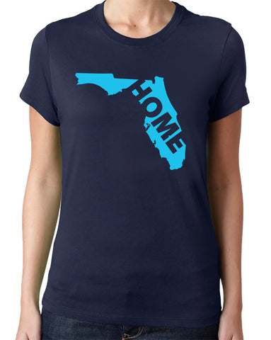 Florida Home Shirt-Women's - Clever Fox Apparel