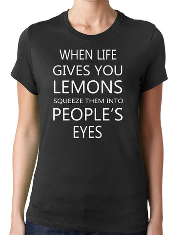 When Life Gives You Lemons T-Shirt - Clever Fox Apparel