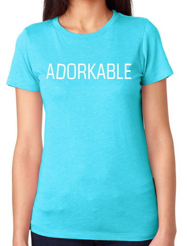 Adorkable- T-Shirt-Women's - Clever Fox Apparel