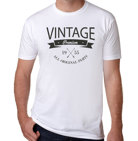 Vintage 1955 T-Shirt (Available for Men and Women) - Clever Fox Apparel
