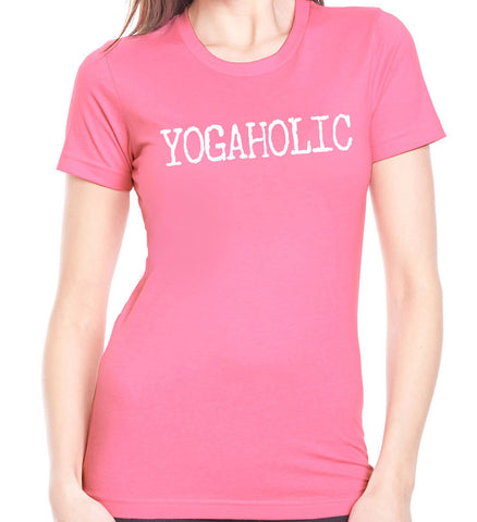 Yogaholic T-Shirt - Clever Fox Apparel