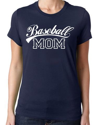 Baseball Mom T-Shirt - Clever Fox Apparel