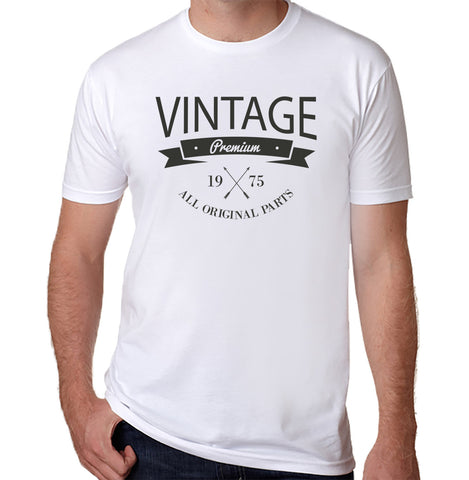 Vintage 1975 T-Shirt - Clever Fox Apparel