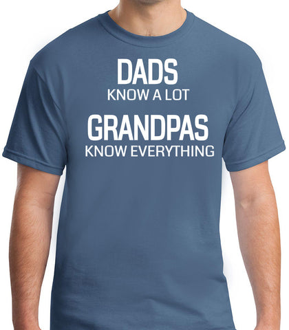 Grandpas Know Everything T-Shirt - Clever Fox Apparel