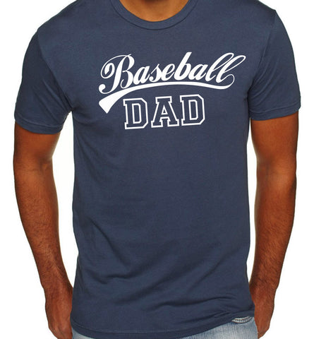Baseball Dad T-Shirt - Clever Fox Apparel