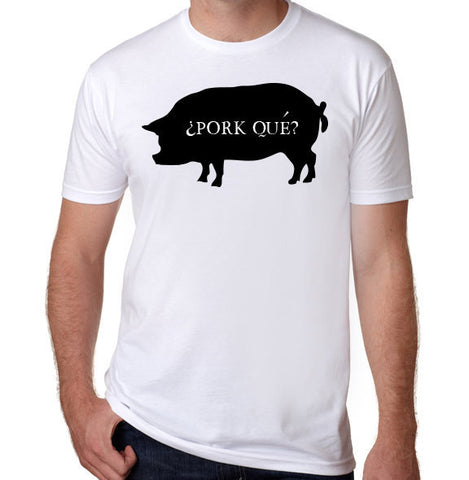 Pork-Que? T-Shirt-Men's - Clever Fox Apparel