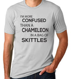 I'm More Confused Than a Chameleon In A Bag Of Skittles T-Shirt-Women's - Clever Fox Apparel
