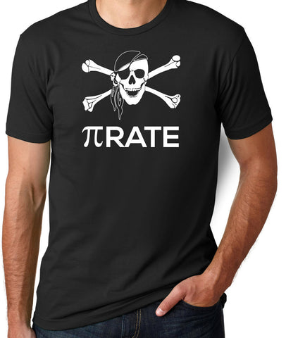 Pi Rate T-Shirt-Men's - Clever Fox Apparel