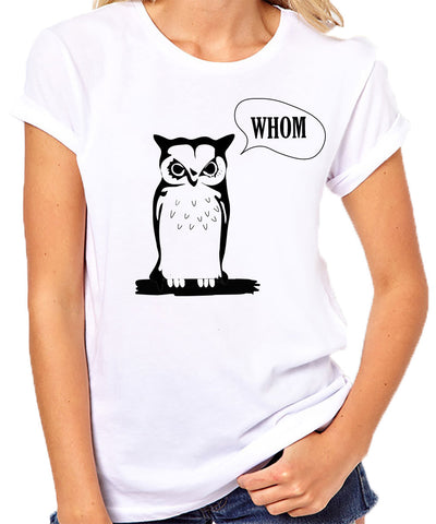 Whom Owl T-Shirt - Clever Fox Apparel