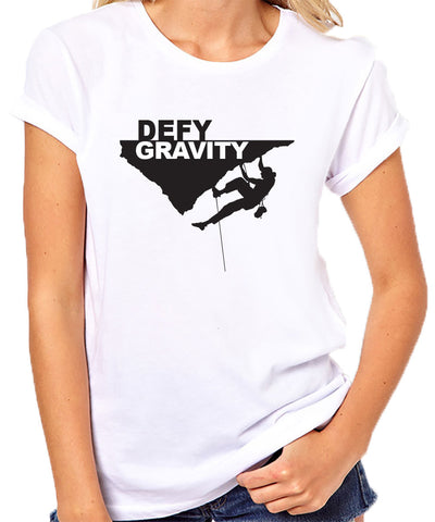 Rock Climbing T-Shirt-Womens
