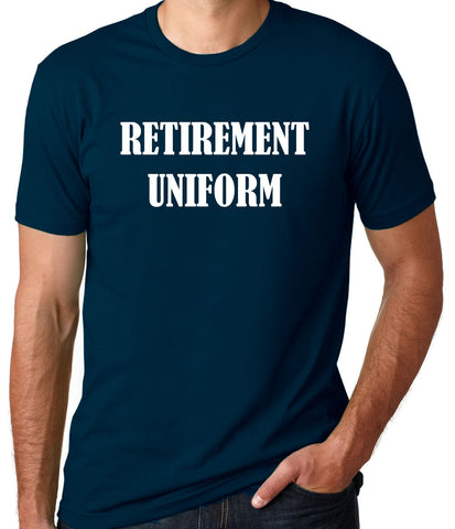 Retirement Uniform T-Shirt-Men's - Clever Fox Apparel