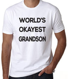 World's Okayest Grandson T-Shirt