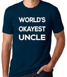 World's Okayest Uncle T-Shirt - Clever Fox Apparel