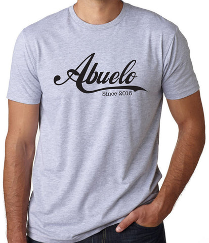 Abuelo Since 2016 T-Shirt - Clever Fox Apparel