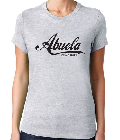 Abuela Since 2016 T-Shirt - Clever Fox Apparel