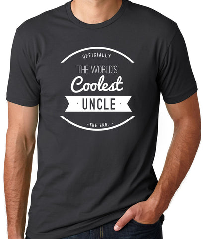The World's Coolest Uncle T-Shirt