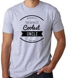 The World's Coolest Uncle T-Shirt - Clever Fox Apparel