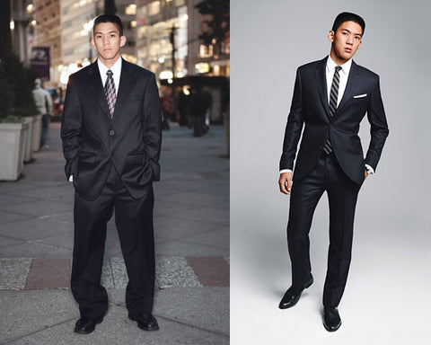 Tailored vs Non Tailored Suit