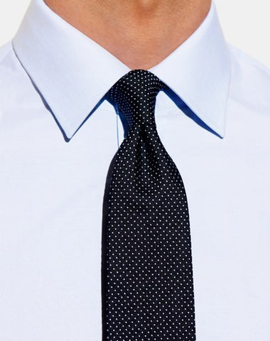 small-collar-small-silk-tie