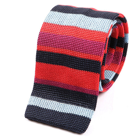 Red Flavour Silk Knitted Tie